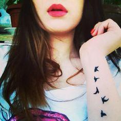 birds Tattoo <3  #tattoo #girls  #sexy     www.loveitsomuch.com