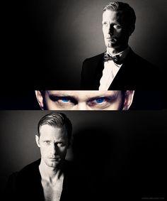 "I Love Skarsgards Eyes...or As I Like To Call Them...The Beautiful ""Blue Skeyes""  <3"