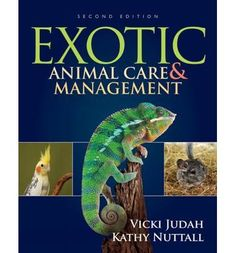 Focusing exclusively on the care of exotic species as pets, EXOTIC ANIMAL CARE AND MANAGEMENT, 2ND EDITION delves into the unique behaviors, diet, housing considerations, handling and restraint methods, medical concerns and clinical procedures related to the proper management of these animals.