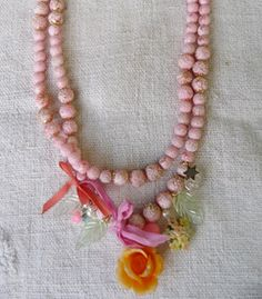 Pink Sugar Double Necklace - £110