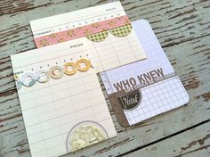 Mish Mash: Handmade Project Life Journaling Cards...great idea for making pre-made journaling spots and using up scrap pieces