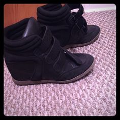 Heeled sneakers from JustFab Still new, worn ones JustFab Shoes Sneakers