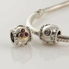 """925 Sterling Silver """"Mom"""" with Pink Czech Crystal Charms/beads for Pandora, Biagi, Chamilia, Troll and More Bracelet general gifts. $17.99. Materials: 925 Sterling Silver (Stamped) and CZ. Hole Size: 4.5 mm. Suitable for 3mm Cable Pandora and other European Charm Bracelets. Color:  18K Gold, antique silver and pink CZ Crystal. Quantity: 1pc. Save 60%!"""