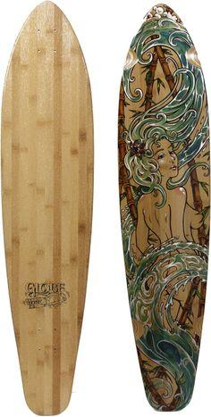 "Globe Kaguya 43"" Longboard Deck - Skate Shop > Decks > Longboard Decks"