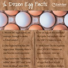 We eat an average of 247 eggs a year! That is one huge omelet!