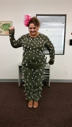 My cactus costume | Cactus costume, Cacti and Costumes