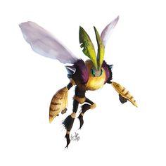 Bee by Enigmasystem.deviantart.com on @DeviantArt