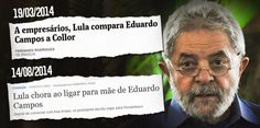 Lula cara de pau.