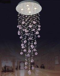 Lustre de Cristal - Transparente