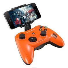 Mad Catz C.T.R.L.i, Gloss Orange беспроводной геймпад для iPhone и iPad  — 4232 руб. —  Mad Catz C.T.R.L.i - стильный беспроводной геймпад для iPhone или iPad. Контроллер превратит ваше мобильное устройство в игровую консоль и позволит играть где угодно - дома, в поездках, путешествиях. Он оснащен лицензированным модулем связи от Apple и совместим с iPhone и iPad 5 поколения. Данная модель подключается к мобильному устройству через протокол Bluetooth. Благодаря энергоэффективному модулю…
