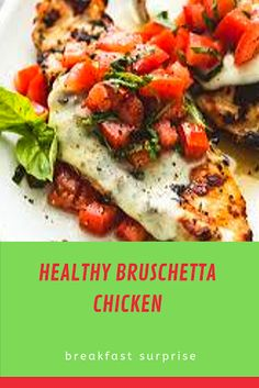 #HEALTHY #BRUSCHETTA #CHICKEN    This Healthy Bruschetta Chicken contains many of the flavors you love from traditional bruschetta but now you can enjoy it for dinner!    Recently we were eating at a restaurant that served a complimentary bruschetta appetizer to all of it's guests. I'm not usually someone who orders it but this one smelled strongly of garlic. Since garlic is my love language I couldn't say no. It was really out of this world good. Naturally it got me thinking about how to Relish Recipes, Carrot Recipes, Bacon Recipes, Appetizer Recipes, Healthy Recipes, Escarole Recipes, Fennel Recipes, Booyah Recipe