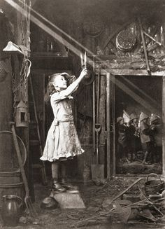 Adam Diston - Cutting a sunbeam, England, 1886
