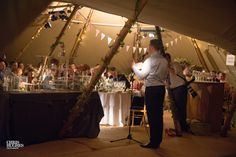 Wigwam style Marquee