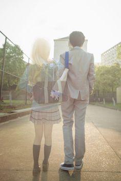 Shigatsu wa kimi no uso, Your lie in April, Kaori, Kousei, Cosplay