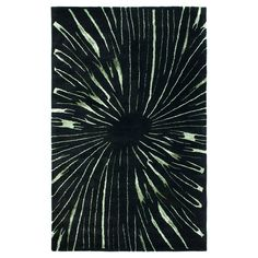 """Black/Multicolor Abstract Tufted Accent Rug - (3'6""""X5'6"""") - Safavieh"""
