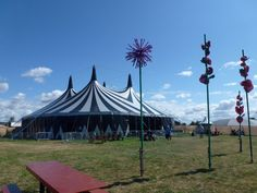 The Bitter Boy tent at Cannon Hall for UTSF 2015