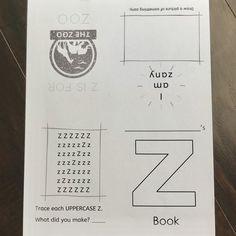 A-Z Coloring Mini Books Set of 26 Digital Copy