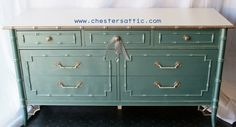 Thomasville Faux Bamboo Dresser by ChestersAttic on Etsy
