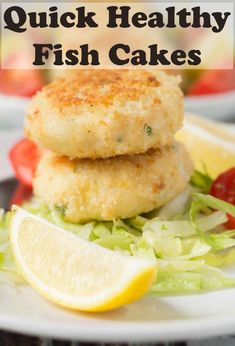 These quick healthy fish cakes are really easy to make and delicious too. Packed full of flavour, you'll definitely notice the difference in taste compared to shop bought ones! These quick healthy fish cakes are really easy to make and delicious too. Easy Fish Cakes, Cod Fish Cakes, Cod Cakes, Easy Fish Recipes, Seafood Recipes, White Fish Recipes, Quick Recipes, Quick Healthy Meals, Healthy Recipes