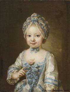 """Pasch, Ulrica Fredrica: Portrait of Hedvig Ulrika Hedengran, 1772"