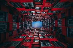 Looking at the dense urban environments of inner city living, Quarry Bay, Hong Kong; Photograph The Trench Run III by Peter Stewart
