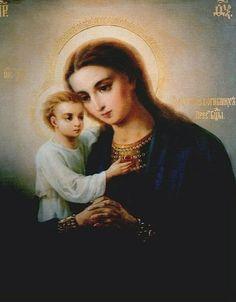 LA VIRGEN MARÍA, Madre de Dios y de toda la humanidad