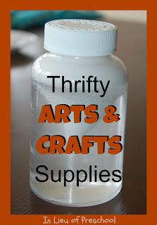 Don't Throw That Away! - Thrifty Arts & Crafts Supplies