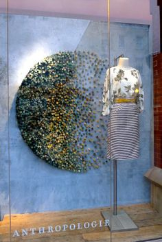 Anthropologie windows for Earth Day.