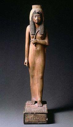 Queen Ahmose Nefertary (c. 1500 BC), great royal wife of pharaoh Ahmose I via Wikipedia.