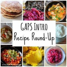 The GAPS Intro Diet - What In the World Do I Eat? {A Recipe Round-Up} | www.RaiasRecipes.com