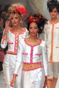 Spring 1996 The Evolution of Chanel's Runway