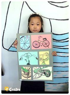 사물의 면 분할 디자인 [킨더 (초등) 수업 / 시흥시 정왕동 배곧 미술학원 - 창의미술 크리아트 : 네이버 블로그 Art Drawings For Kids, Art For Kids, Art Attack Ideas, 3rd Grade Art, School Art Projects, Middle School Art, Art Lesson Plans, Jr Art, Art Classroom