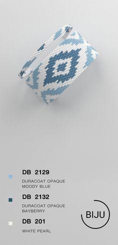 US$4.72 peyote bracelet pattern, peyote pattern, odd count, stitch pattern, pdf file, pdf pattern, #18BIJU
