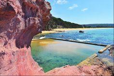 The gorgeous Sapphire Coast of NSW - Eden Australia, Australia Travel, Eden Nsw, Landscape Photography, Travel Photography, South Coast Nsw, Wave Rock, Things To Do At Home, Best Swimming