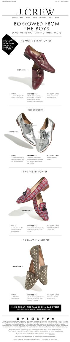 jcrew | newsletter | fashion email | fashion design | email | email marketing…