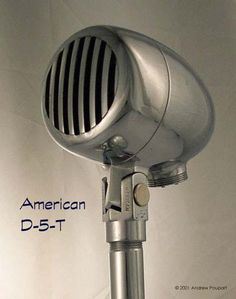 ... a very heavy bullet type microphone. Mine is the only one I've come across. Here's a link to a site that has a number of photos of vintage American (and ...