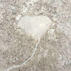 Water heart, heart of water.