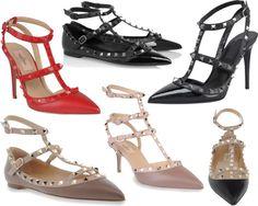 Valentino Rockstud Shoes on FoodieForFashion.com