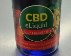 CBD Sour Diesel E-Juice from WWW.SENDMYELIQUID.COM