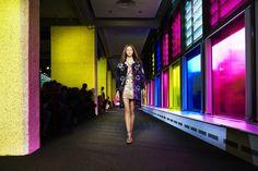 http://blog.bureaubetak.com/post/97727196114/peter-pilotto-rtw-ss15-monday-september-15th-2014 fashion show set runway fashion week