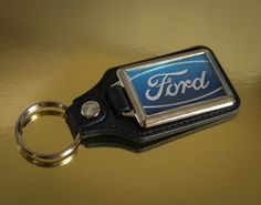 Classic Ford Medallion Keyring by WeeHings on Etsy
