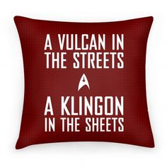 A Vulcan In the Streets (Red) | Good lord not red. He'll die.... T.T