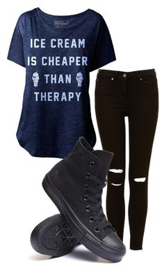 """untitled #81"" by killjoy-sam ❤ liked on Polyvore featuring Converse"
