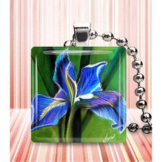 Beautiful fused glass pendant! by NinasWindow on Etsy. Read more about this inspirational artist by scrolling down. Amazing story!!