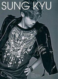 INFINITE Sunggyu Jacket Photo Collection | Infinite CHING-GYU