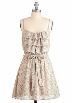 Sun-dresses make me happy.