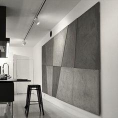 Панно из панелей Dybrilitt (смотрится как шедевр супрематизма) В данном проекте сочетание художественности и уюта, складывается впечатление, что с одной стороны на стене полотно Кандинского или Малевича, с другой очень хорошо решена пространственная задача.