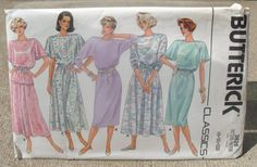 1986 Uncut  Classic Butterick Pattern 3626 by lovelylovepatterns, $4.00