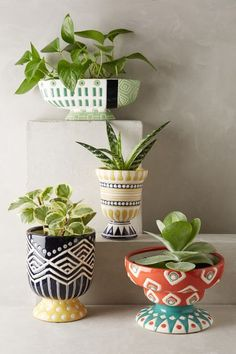 Anivalda Garden Pot - anthropologie.com / $20-$32