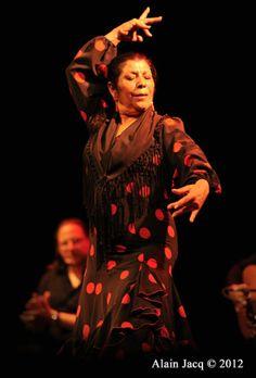 Gypsy Flamenco Dancer Angelita Vargas. Fundraising event for stroke prevention awareness.